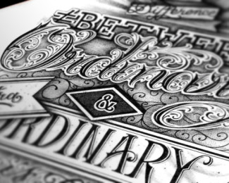 Stunning Examples of Hand Lettering in Design 2015