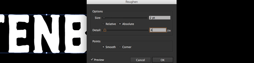 12 Steps To Ageing Your Type In Adobe Illustrator 2016