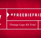 #FreebieFriday – Vintage Logo Kit Trial