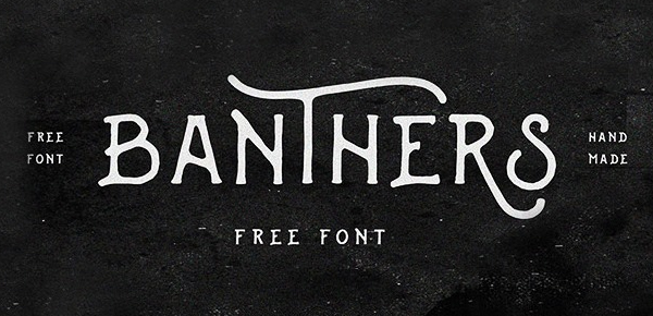 VTC-Top-FREE-Vintage-Fonts-2016-Banthers
