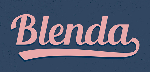 VTC-Top-FREE-Vintage-Fonts-2016-Blenda