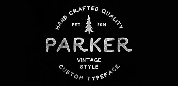 VTC-Top-FREE-Vintage-Fonts-2016-Parker
