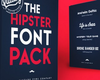 Hipster Font Pack 2016