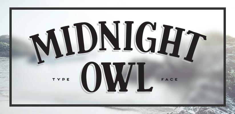 Midnight Owl NEW Font