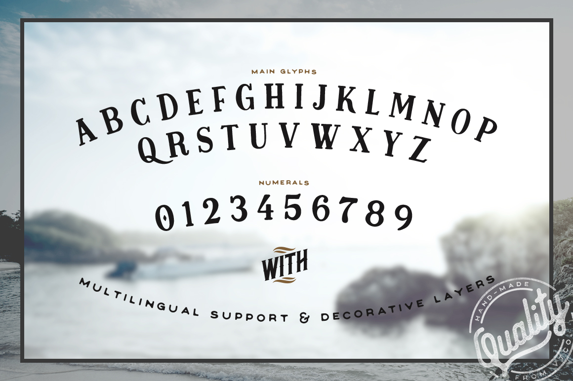 Midnight Owl Display Font Preview 03 2016