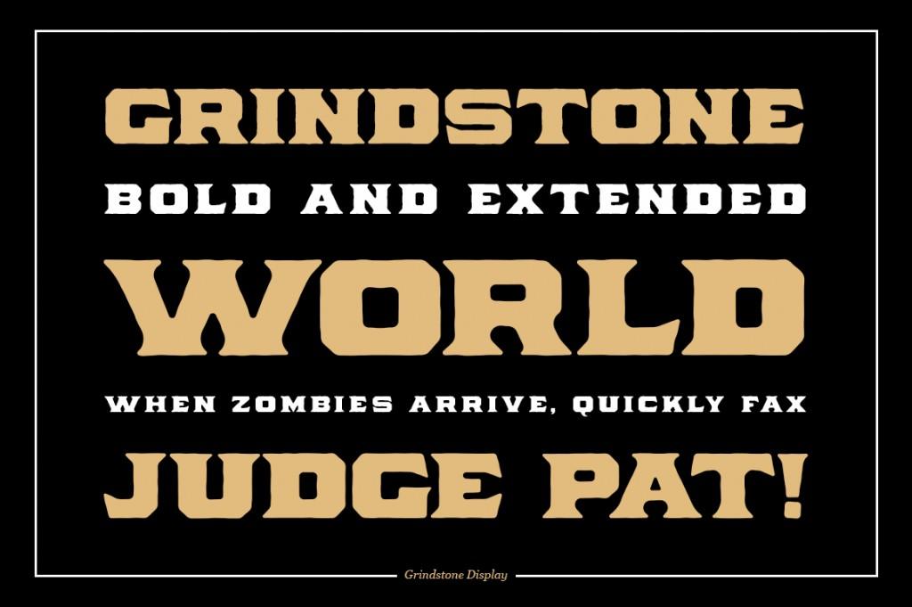Grindstone Vintage Font Family