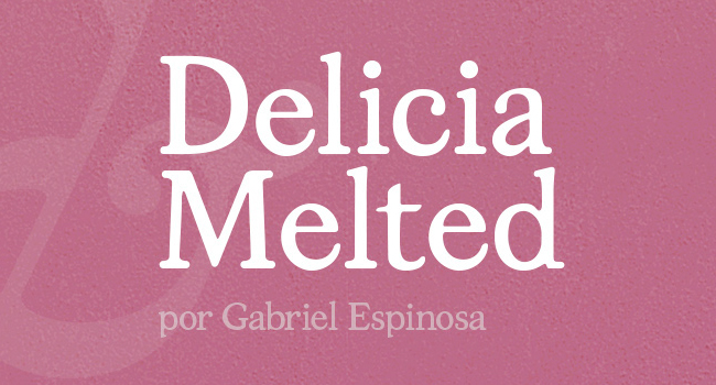 Delicia Melted Free Font October 2017