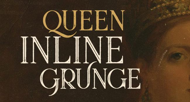 Queen Inline Free Font October 2017