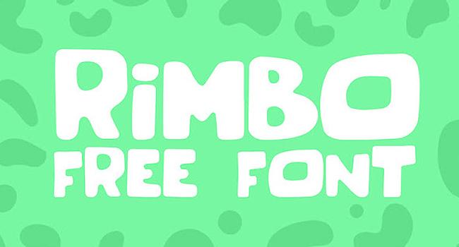 Rimbo Display Free Font 2017